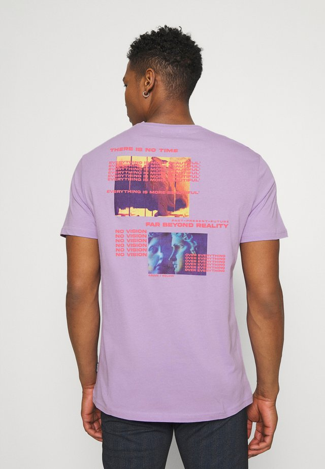 UNISEX - T-shirt med print - lilac
