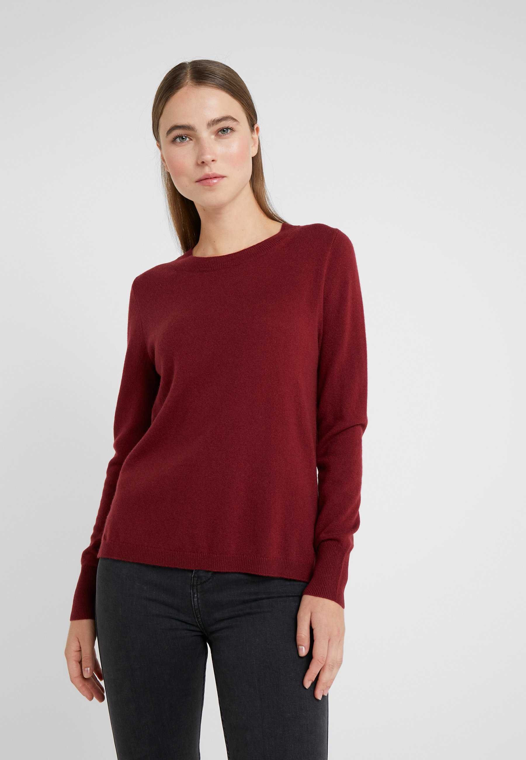 J.CREW LAYLA CREW - Strickpullover - burgundy | Damenbekleidung billig