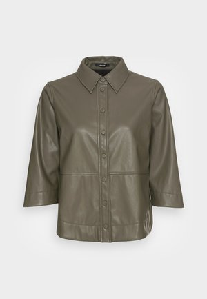 FIMBA - Button-down blouse - soft moss