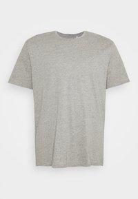 Jack & Jones - JORBASIC TEE CREW NECK 3 PACK  - Basic T-shirt - white/ light grey/melange black - 4