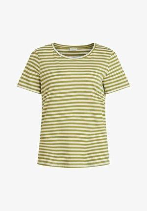 VISUS NOOS - Print T-shirt - green olive 2