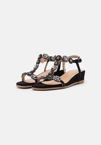 Alma en Pena - Wedge sandals - black - 2