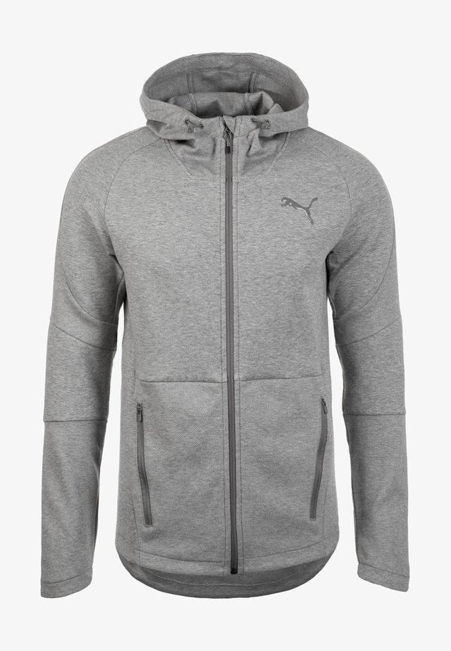 Training jacket - medium gray heather