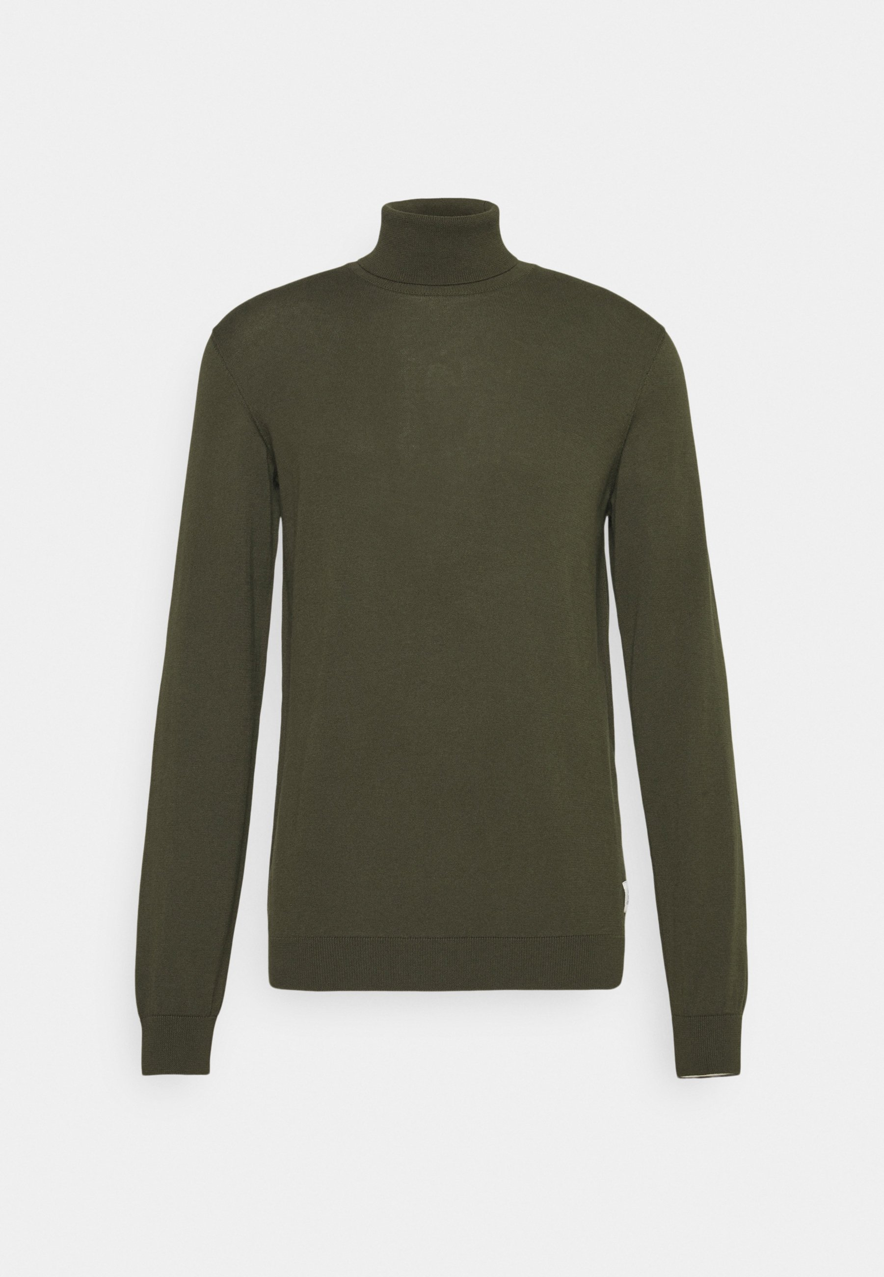 Homme PULLOVER WITH LONG SLEEVE AND ROLL NECK - Pullover