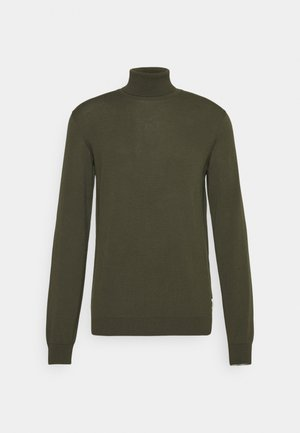 PULLOVER WITH LONG SLEEVE AND ROLL NECK - Jumper - asher tree