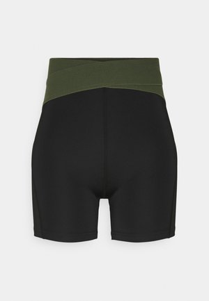 Legging - black/green