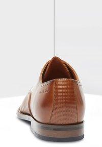 Van Lier - CARVALHO - Smart lace-ups - cognac - 2