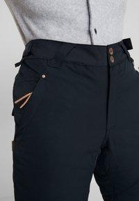 Rojo - PANT - Pantaloni da neve - true black - 5