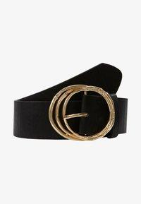 Pieces - PCDEMA WAIST BELT  - Waist belt - black/gold-coloured - 1
