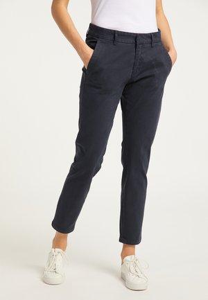 Pantalones chinos - dunkelmarine