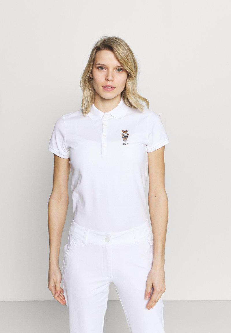 Polo Ralph Lauren Golf - KATEBEAR SHORT SLEEVE - Polo shirt - pure white