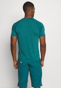 Zimtstern - MAORITZ TEE MENS - T-Shirt print - pacific/sharp green - 2