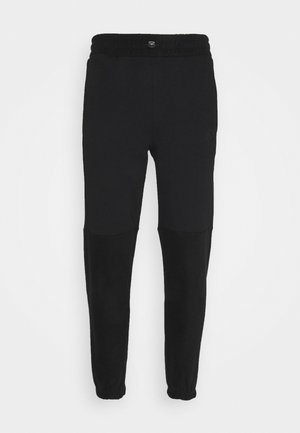 ELASTIC CUFF PANT - Tracksuit bottoms - black