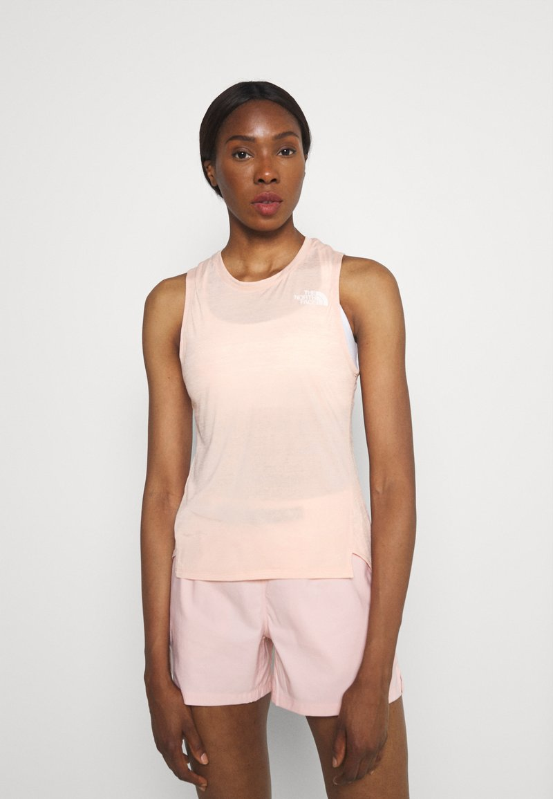 The North Face - UP WITH THE SUN TANK  - Toppi - evenng sand pink