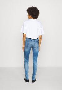 Marc O'Polo DENIM - KAJ HIGH RISE CROPPED - Jeans Skinny Fit - multi/mid blue used - 2