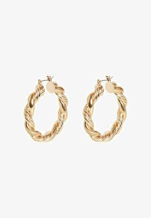 Earrings - gold colour