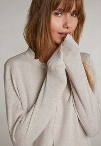 Oui - Cardigan - light stone - 3