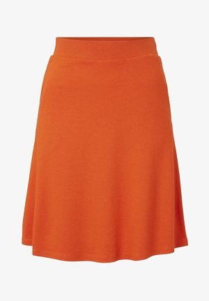 EASY SHAPE - A-line skirt - strong flame orange