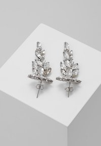 Pieces - PCMARLO EARRINGS KEY - Ohrringe - silver-coloured - 2