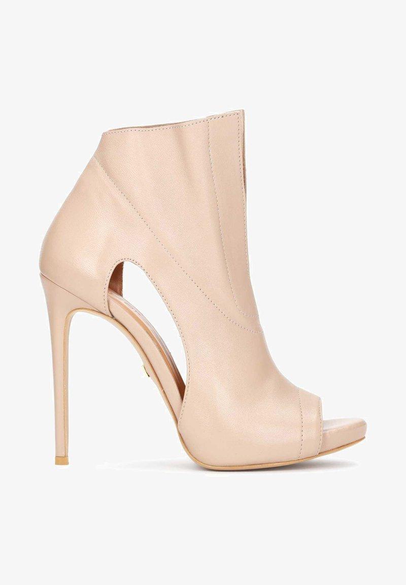 Kazar - KANA - Peeptoe heels - beige