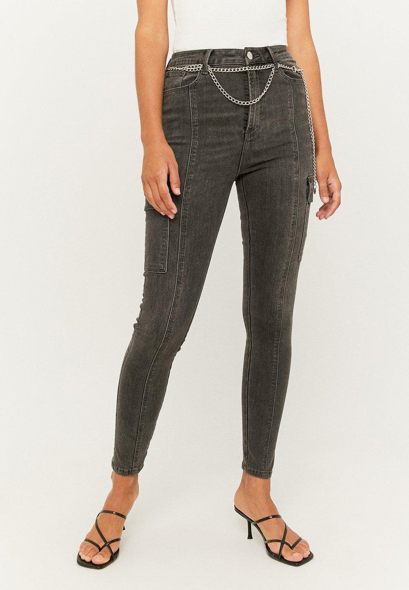 TALLY WEiJL - Jeans Skinny Fit - gry