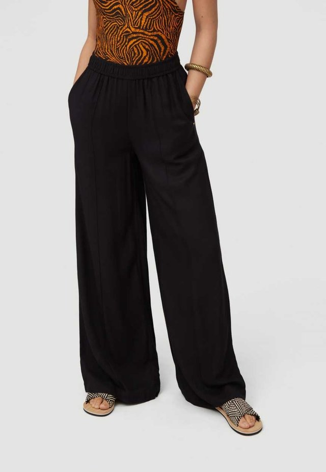 Pantalon classique - black out