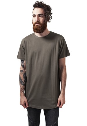 SHAPED LONG TEE DO NOT USE - Basic T-shirt - olive