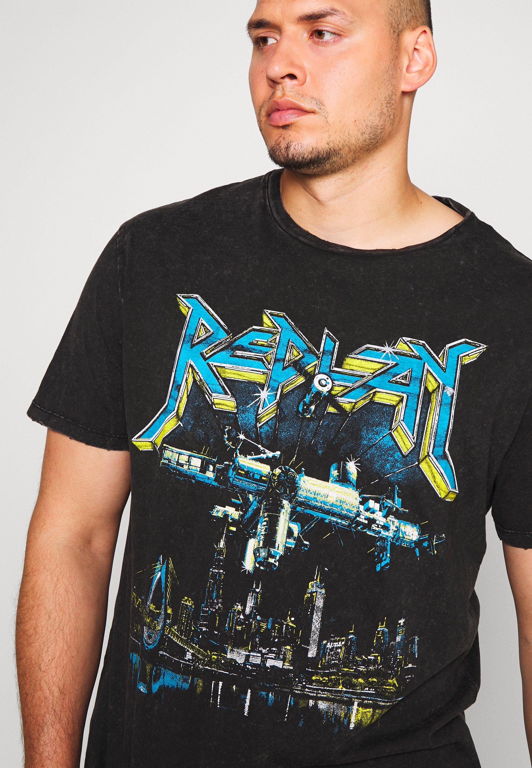 Replay Plus T-shirt imprimé - blackboard