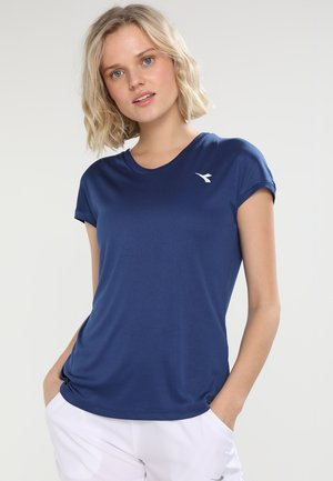 TEAM - Basic T-shirt - saltire navy