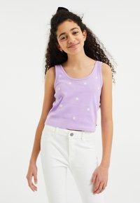 WE Fashion - Top - lilac - 1