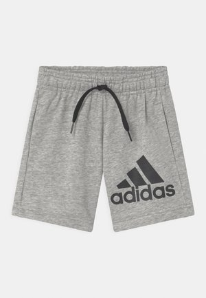 UNISEX - Sports shorts - grey/black