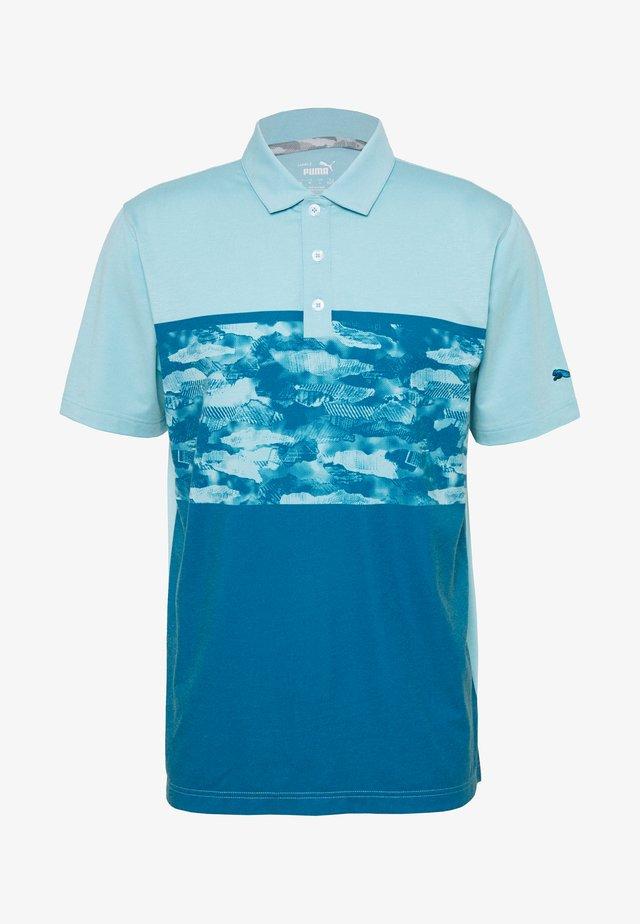 CAMOBLOCK - Poloshirt - milky blue