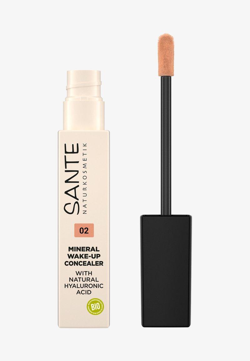 Sante - MINERAL WAKE-UP CONCEALER - Concealer - 02 warm beige