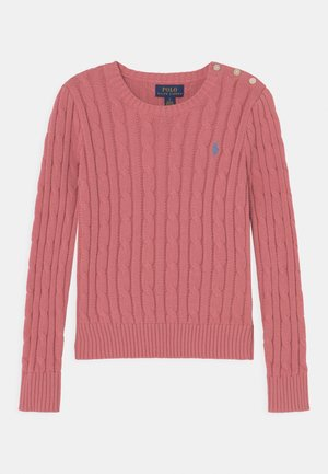 CABLE - Pullover - desert rose