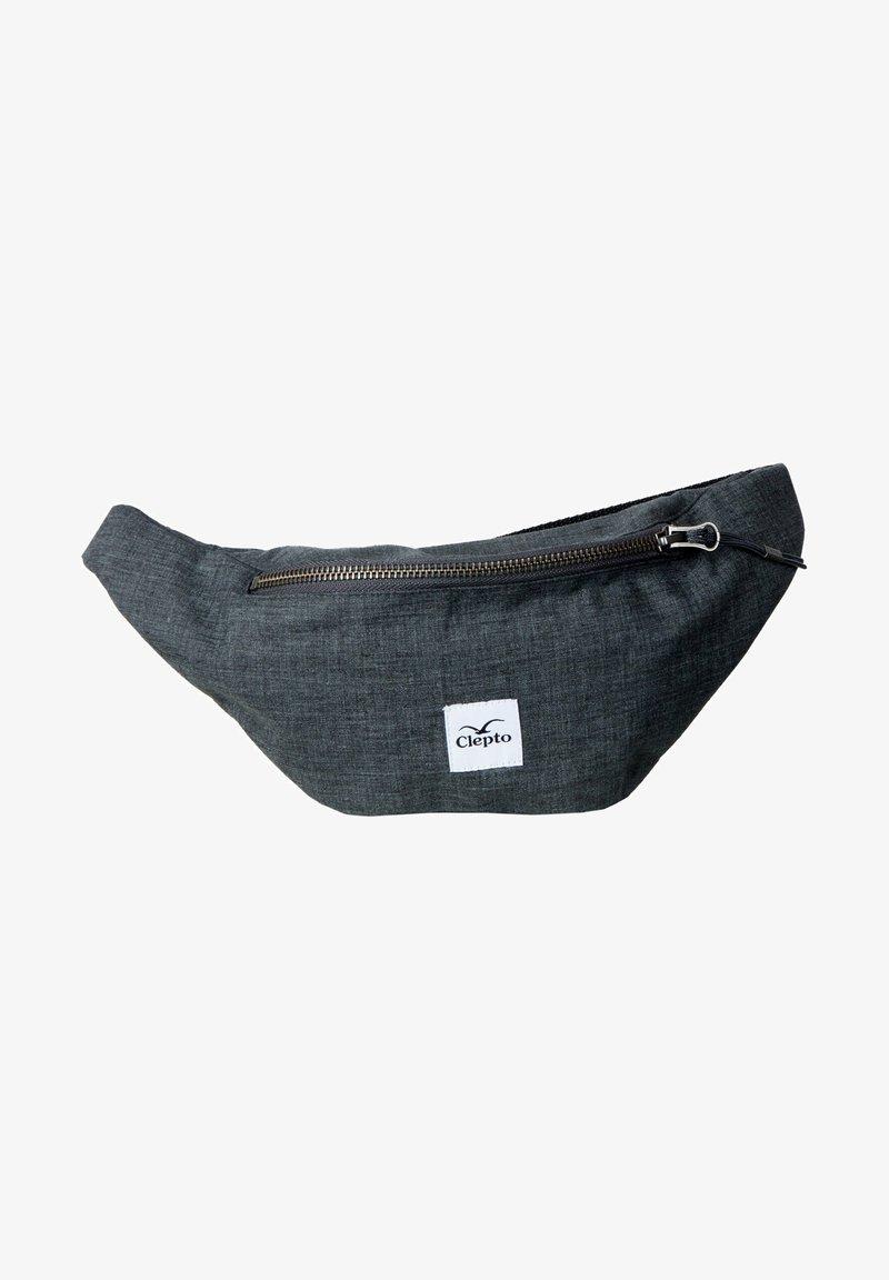 Cleptomanicx - Bum bag - heather dark grey