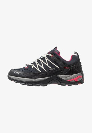 RIGEL LOW TREKKING SHOES WP - Zapatillas de senderismo - antracite/offwhite