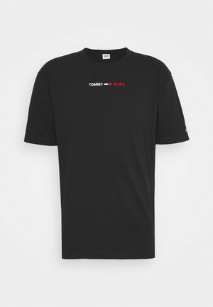 LINEAR LOGO TEE - T-shirt con stampa - black