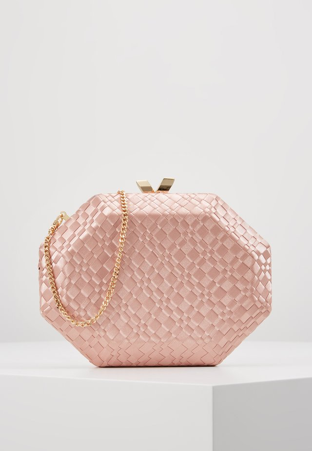 JEWEL HARDCASE - Clutch - blush