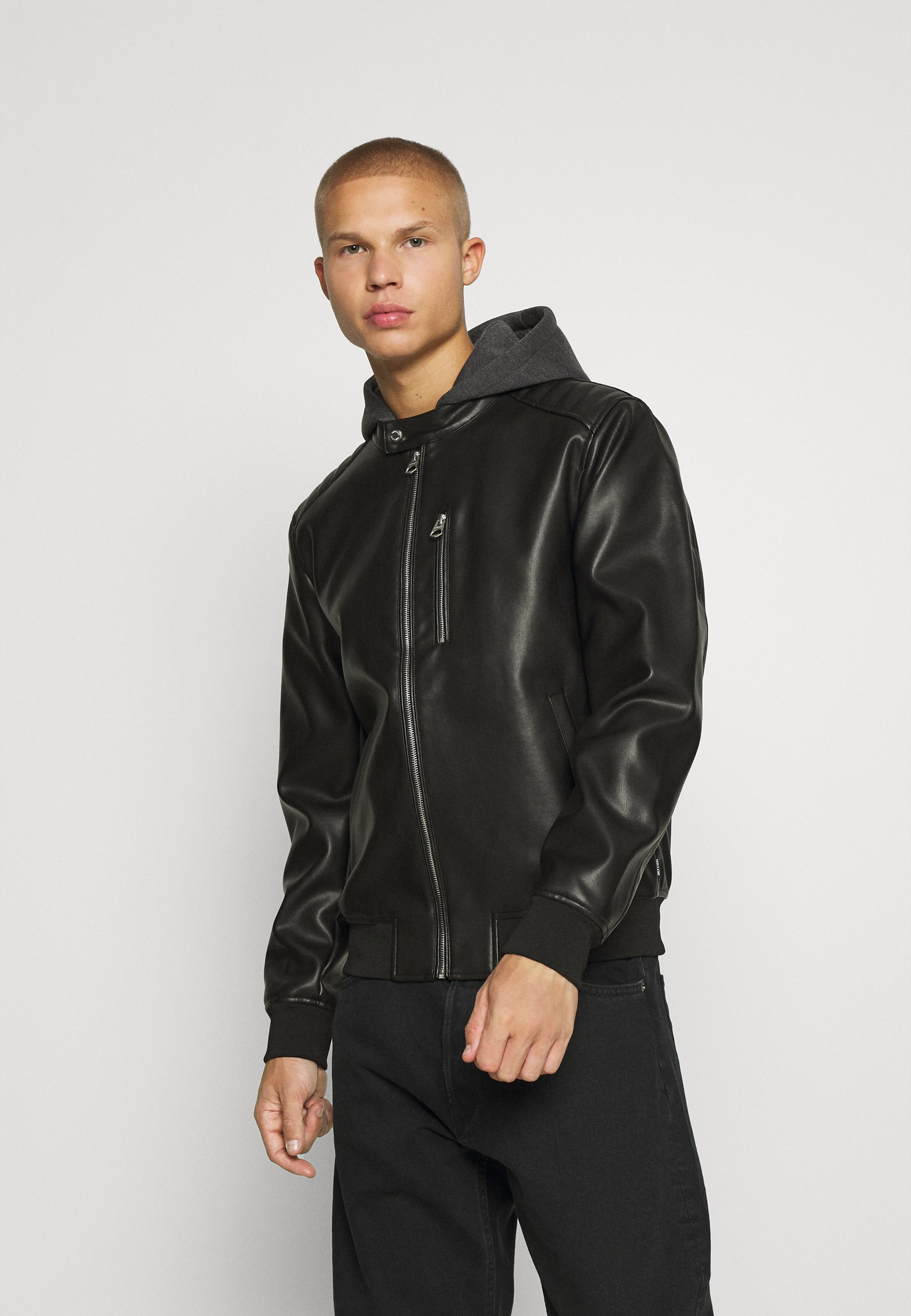 Men ONSFLYNN JACKET - Faux leather jacket
