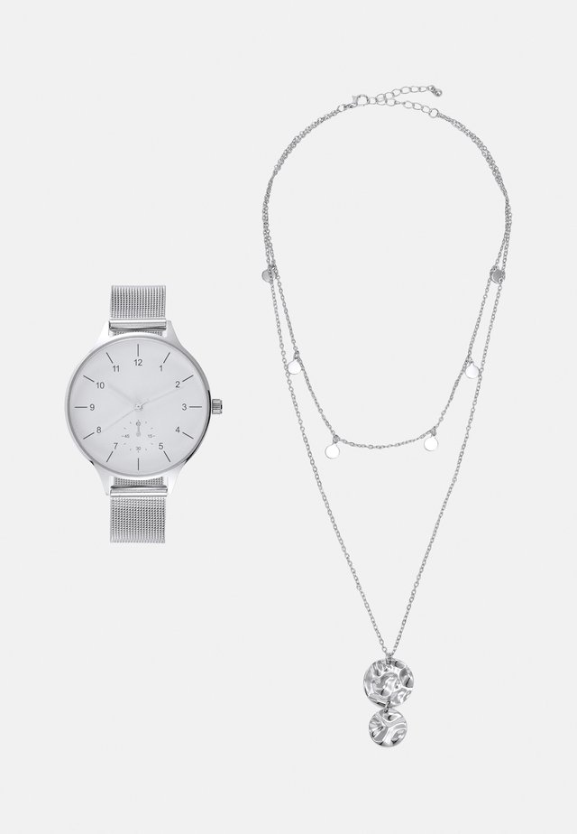 SET - Montre - silver-coloured