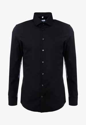 BUSINESS KENT PATCH SLIM FIT - Businesshemd - black