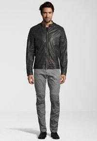 Capitano - IOWA - Leather jacket - anthracite - 1