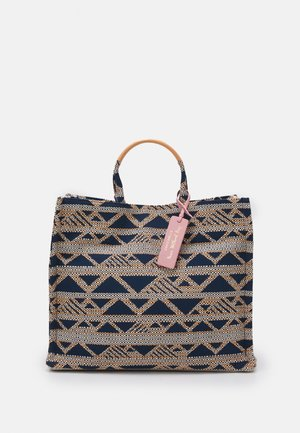 NEVER WITHOUT BAG TOP HANDLE - Tote bag - navy