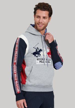 Sweater - w-grey melange