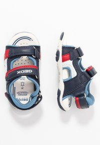 Geox - AGASIM BOY - Walking sandals - navy/dark sky - 0