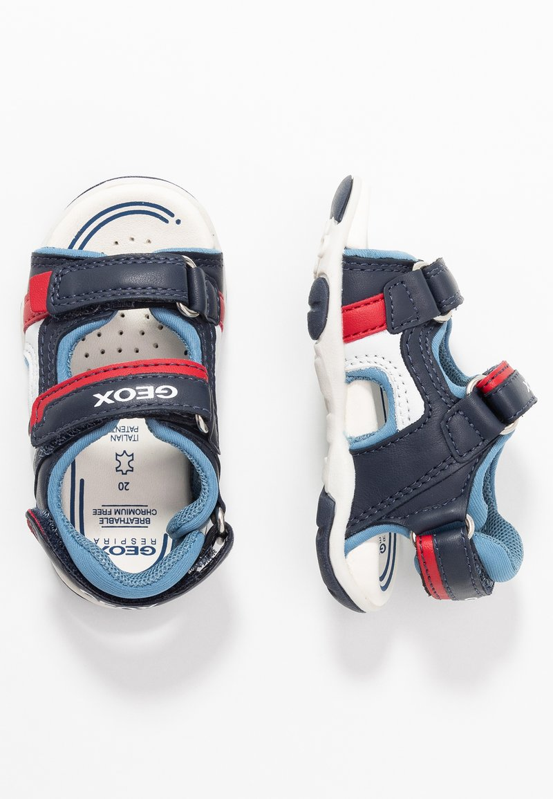 Geox - AGASIM BOY - Walking sandals - navy/dark sky
