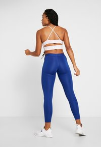 Reebok - WORKOUT READY COMMERCIAL TIGHTS - Leggings - cobalt - 2