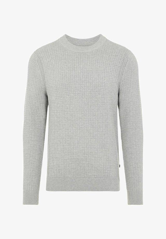 Pullover - lt grey melange