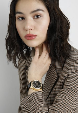 SMART WATCH - Smartwatch - gold-coloured/black