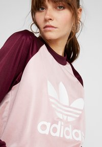 adidas Originals - LONGSLEEVE - Top sdlouhým rukávem - pink spirit/maroon - 4